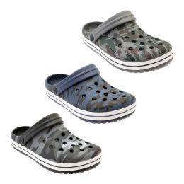 36 Units of Men's Camouflage Garden Shoes - Men's Flip Flops and Sandals