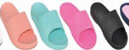 48 Units of Womens Open Toe Buckle Strap Sandals - Women's Sandals