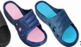 48 Units of Womens Shower Pool Sandals Quick Drying Bathroom Slippers - Women's Sandals