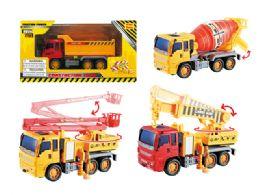 "48 Units of FRICTION CONSTRUCTION VEHICLE (4 ASSTD) 8.5"" - Cars, Planes, Trains & Bikes"