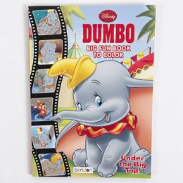 24 Units of Coloring Book Disney Dumbo In 24 Pc Display Box - Coloring & Activity Books