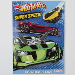 24 Units of Hot Wheels Coloring Book - Coloring & Activity Books