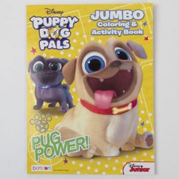 24 Units of Puppy Dog Pals Jumbo Coloring Book - Coloring & Activity Books