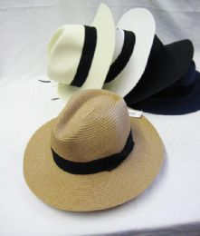 36 Units of Unisex Fashion Fedora Hat - Fedoras, Driver Caps & Visor