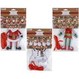 36 Units of DIY Christmas Banners - Christmas Decorations