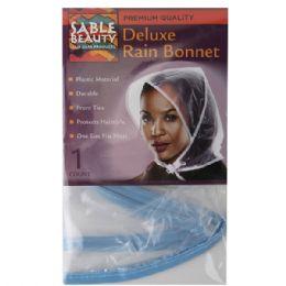 240 Units of Sable Beauty Deluxe Rain Bonnet - Hair Accessories