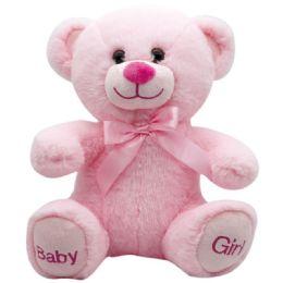 "24 Units of 10"" Bear Baby Girl - Plush Toys"