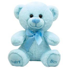 "24 Units of 10"" Bear Baby Boy - Plush Toys"