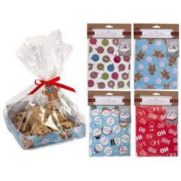 36 Units of Cookie Tray w/ bag - Christmas Novelties