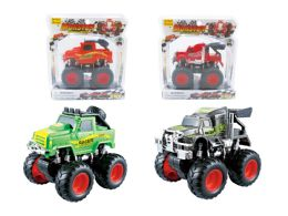 """48 Units of FRICTION MONSTER TRUCK (2 ASSTD.) 5"""" - Cars, Planes, Trains & Bikes"""