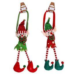 18 Units of Elf Door Hanger - Christmas Decorations