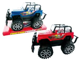 """36 Units of FRICTION MOUNTAIN VEHICLE 9"""" - Cars, Planes, Trains & Bikes"""