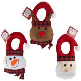 36 Units of Christmas Felt Door Hanger - Christmas Decorations