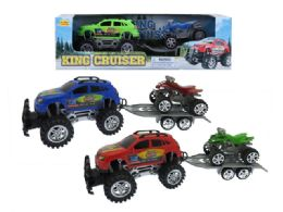 """24 Units of FRICTION MONSTER TOWING SUV 16"""" - Cars, Planes, Trains & Bikes"""