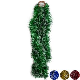 48 Units of Garland Tinsel 9ft - Christmas Decorations