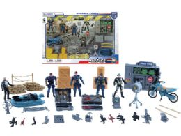 12 Units of POLICE FORCE PLAY SET - Toy Sets