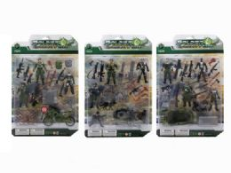 36 Units of SOLDIER FORCE PLAY SET (3 ASSTD.) - Toy Sets