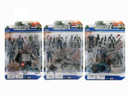 36 Units of POLICE FORCE PLAY SET (3 ASSTD.) - Toy Sets