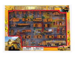 12 Units of DIECAST CONSTRUCTION SET W/STAGE MAP - Toy Sets