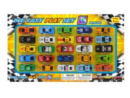 36 Units of DIECAST CAR COLLECTION (25 PCS SET) - Toy Sets
