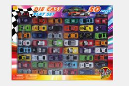 24 Units of DIECAST CAR COLLECTION (50 PCS SET) - Toy Sets
