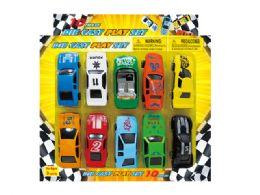 96 Units of DIECAST CAR COLLECTION (10 PCS SET) - Toy Sets