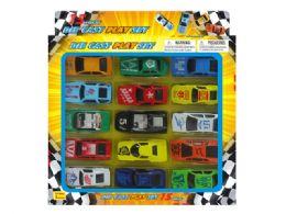 72 Units of DIECAST CAR COLLECTION (15 PCS SET) - Toy Sets