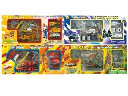 36 Units of DIECAST PLAY SET (4 ASSTD.) (10 PCS SET) - Toy Sets