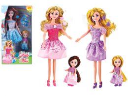 48 Units of BEAUTY MOM & KID DOLL SET - Dolls