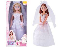 "24 Units of BEAUTY JUMBO BRIDE DOLL PLAY SET 17"" - Dolls"