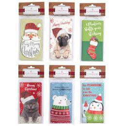 48 Units of Christmas Money/Gift card Holder - Christmas Novelties