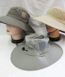 24 Units of Men's Fishing Safari Boonie Hat - Cowboy & Boonie Hat