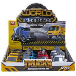 24 Units of Construction Toy Trucks - Toys & Games