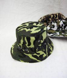 48 Units of Men's Assorted Camo Bucket Hat - Bucket Hats