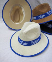 "24 Units of ""Los Angeles"" Fedora Sun Hat - Fedoras, Driver Caps & Visor"