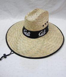 "24 Units of Men's ""Cali"" Summer Straw Hat - Sun Hats"