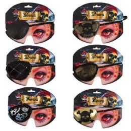 36 Units of Eyepatch Costume Accessory - Costumes & Accessories
