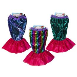 24 Units of Kids Mermaid Costume Skirt - Costumes & Accessories