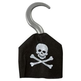 24 Units of Plastic Pirate Hook - Costumes & Accessories