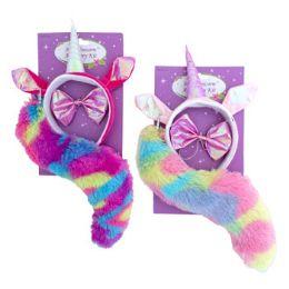 18 Units of Plush Unicorn 3pc Costume Set - Costumes & Accessories