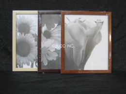 48 Units of PL. PHOTO FRAME - WOOD FINISH ASST.CL 8X10 - Picture Frames
