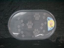 72 Units of Pl. Pet Mat - Pet Supplies