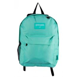 "24 Units of Kids Classic Backpacks in Mint - Backpacks 17"""
