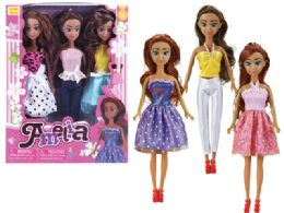 36 Units of BEAUTY DOLL COLLECTION (3 DOLLS SET) - Dolls