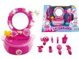 16 Units of Beauty B/o Vanity Set W/light & Sound - Girls Toys