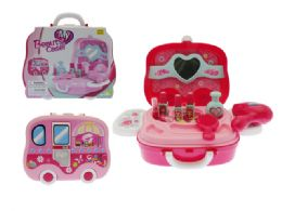 24 Units of BEAUTY CARRY CASE W/ACCESSORIES - Girls Toys