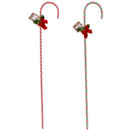 48 Units of Candy Cane Twist - Christmas Decorations
