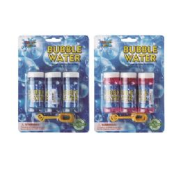 24 Units of Water World Bubble Refill 30ml 3pk - Bubbles