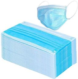 50 Units of Disposable 3ply Wholesale Face Masks 50 Piece Case - First Aid and Hygiene Gear
