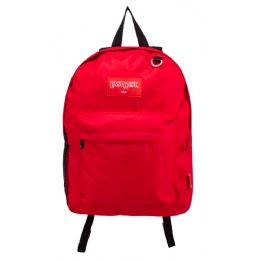 24 Units of Kids Classic Backpacks in Red - Backpacks 17""
